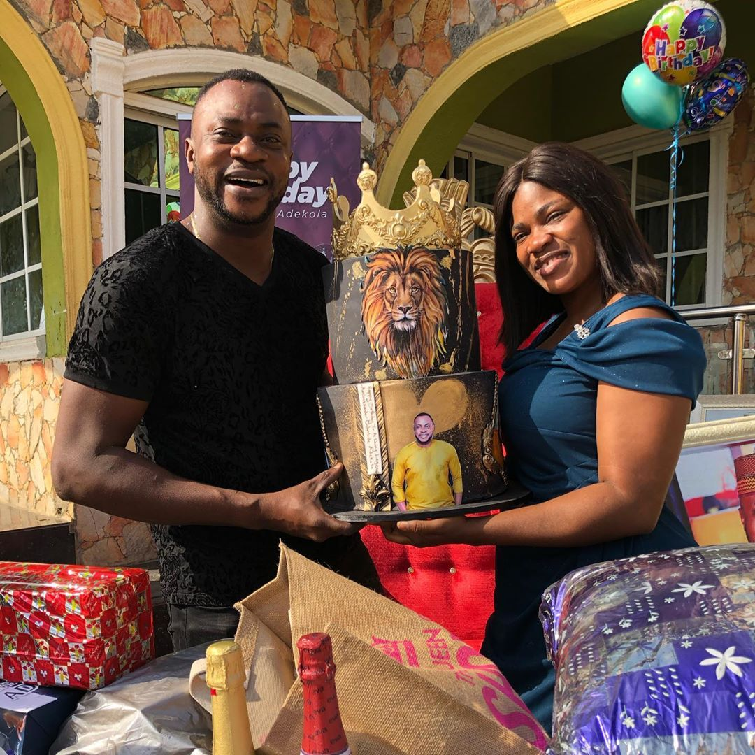 Odunlade Adekola's Birthday Photo