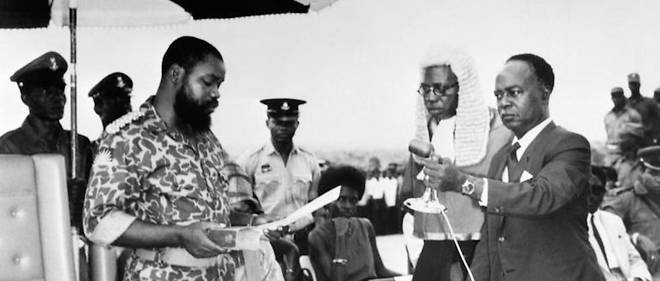 On May 30 1967 Colonel Ojukwu a Biafran officer announces the establishment of the Republic of Biafra © DR - Nigeria: The Biafra War 50 Years Ago