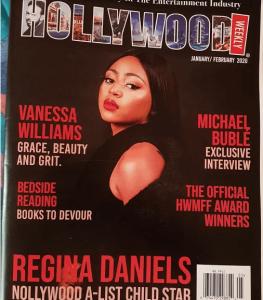 Regina dan 263x300 - Regina Daniels Bags New Award, Appears On Hollywood Magazine