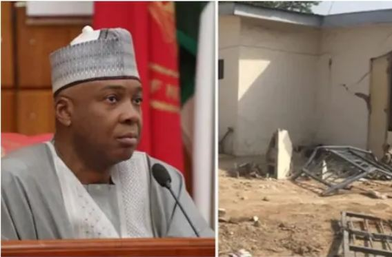 Saraki Secures Injunction Stopping Further Demolition Of Ile Arugbo