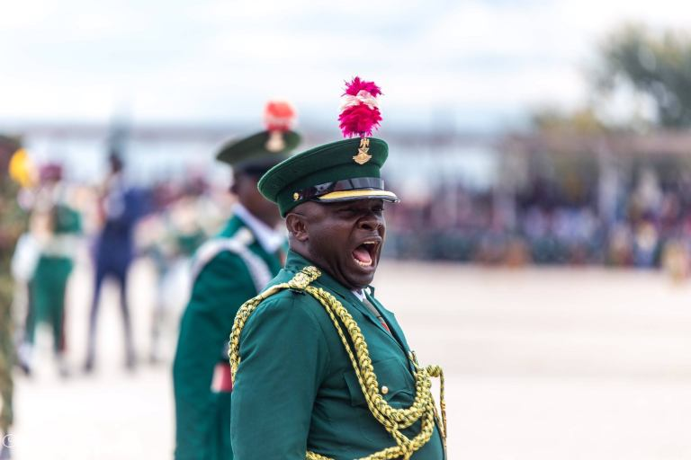 Soldeir3 - Armed Forces Remembrance Day: President Buhari Lays Wreath To Celebrate Fallen Heroes (Pictures & Video)