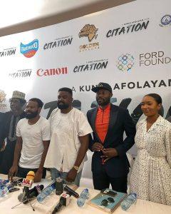 Temi Otedola and Kunle Afolayan 240x300 - FULL LIST: Temi Otedola, Van Vicker, Citation Win At Ghana Movie Awards