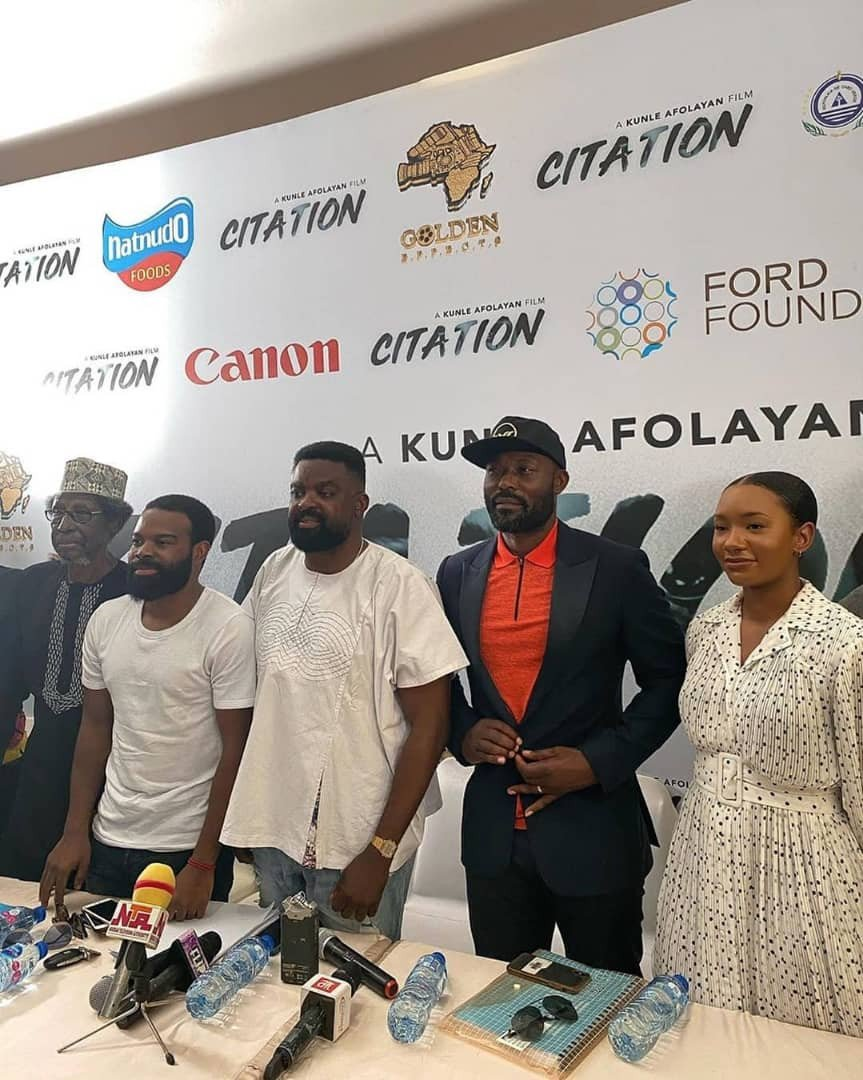 Temi Otedola and Kunle Afolayan - Femi Otedola's Daughter, Temi To Feature In Kunle Afolayan's New Movie 'Citation'
