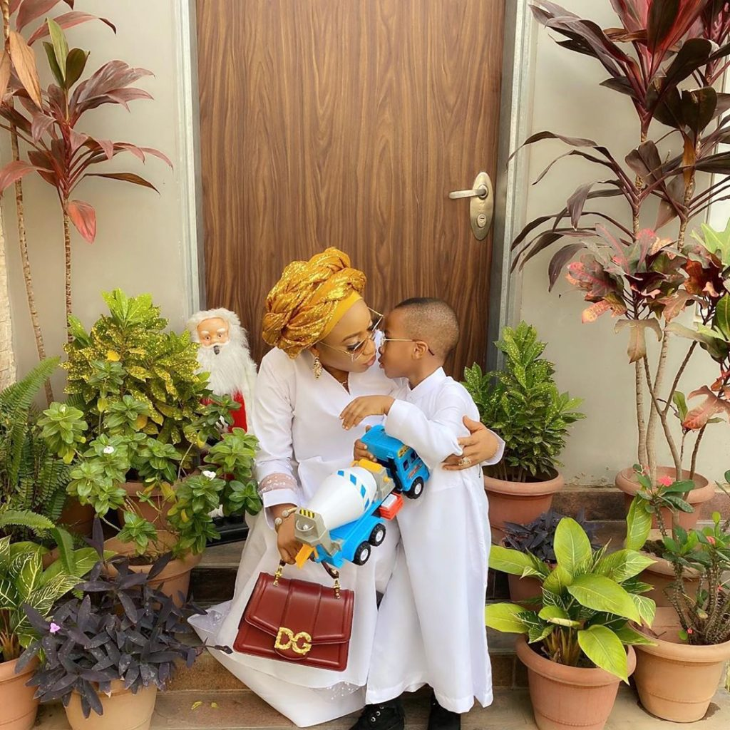 Tonto Dike and Son 2 1024x1024 - Tonto Dikeh Finally Returns To Nigeria After Being Detained In Dubai