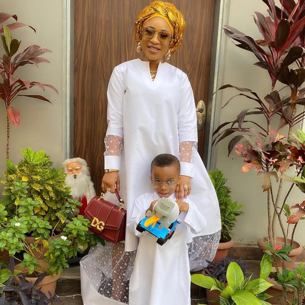 Tonto Dike and Son 3 1024x1024 - Tonto Dikeh Finally Returns To Nigeria After Being Detained In Dubai