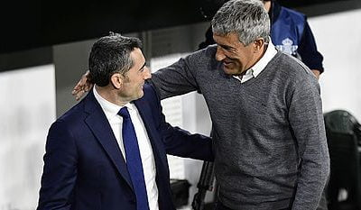 Barcelona Sack Valverde, Appoint Setien As Replacement