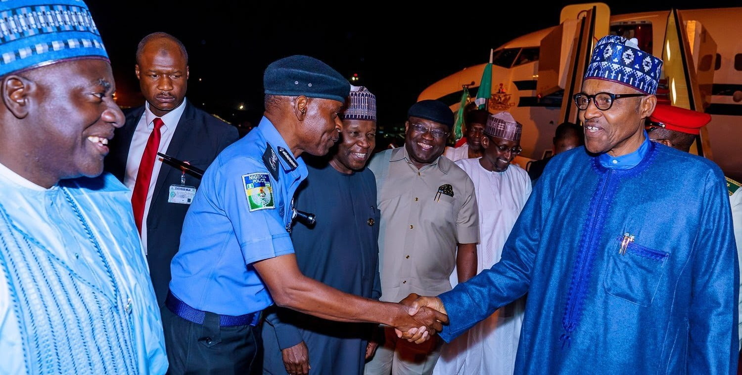 Just In: President Buhari Returns To Nigeria