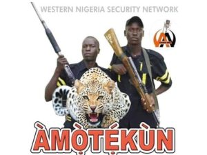 Amotekun Uniform 300x225 - Amotekun Arrests Four Kidnappers From Sokoto In Ekiti
