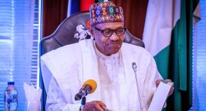 Buhari smiles 300x162 - Buhari Begs Food Marketers and Vendors To Stop Exploiting Nigerians