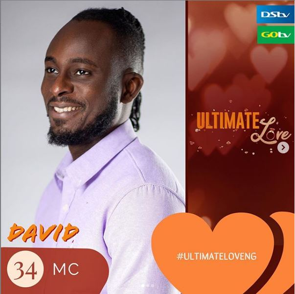 David IG - Profile Of David Wilson, Contestant In The 2020 'Ultimate Love' Reality Show