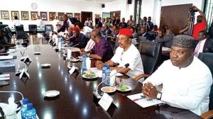 Governor Southeast pix 1 653x365 1 300x168 - Amotekun: South East Governors To Launch Regional Security Outfit