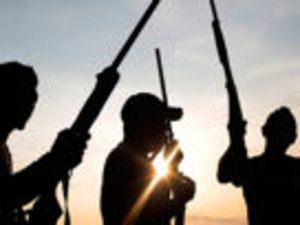 Gunmen 300x225 - Gunmen Attack Sokoto Village, Abduct Nursing Mother, Others