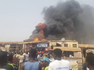 IMG 20200221 WA0023 300x225 - UPDATE: Fire Outbreak Destroys Shops At Jabi Motor Park, Abuja