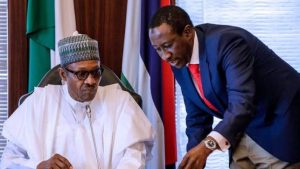 NSA Monguno and Buhari 300x169 - Breaking: Buhari Plans To Overhaul Security Architecture – Monguno