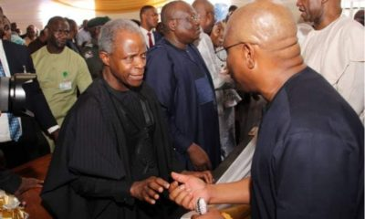 Vice President Osinbajo, Gov. Wike, Other Top APC, PDP Leaders Meet (Photos)