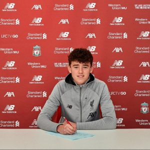 Tom Hill 300x300 - Official: 17-Year-Old Tom Hill Signs Professional Contract With Liverpool