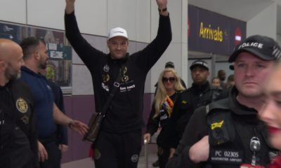 Tyson Fury Returns To UK