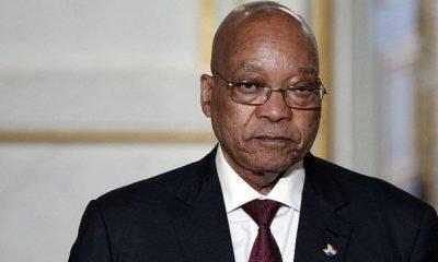 Police Detain Ex-South African President, Zuma