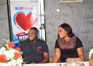 capture1 300x214 - Couple Wins N1.5M Wedding Reception Sponsorship in TECNO Blue Valentine