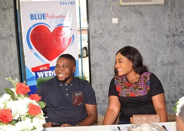 capture1 - Couple Wins N1.5M Wedding Reception Sponsorship in TECNO Blue Valentine