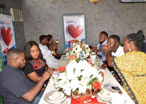 capture3 - Couple Wins N1.5M Wedding Reception Sponsorship in TECNO Blue Valentine