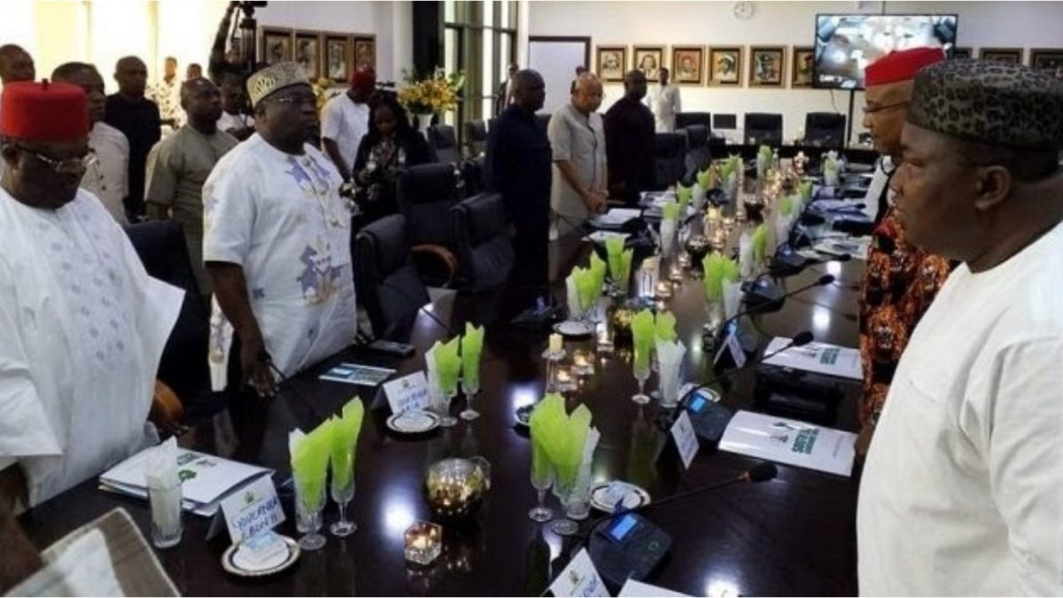 south east governors meet in enugu move to enact law backing joint zonal security outfit 1200x675 1 - Amotekun: South East Governors To Launch Regional Security Outfit