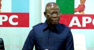 Adams Oshiomhole 300x162 - I Will Not Lead APC Again – Oshiomhole