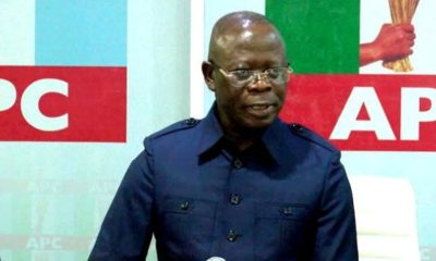 Edo2020: Ex-APC National Chairman Oshiomhole Wins Big In His Polling Unit