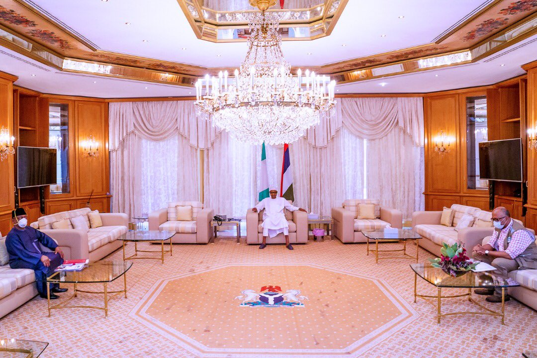 COVID-19: Details of Buhari, Presidential Task Force Meeting Revealed