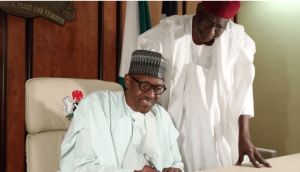 Buhari with Kyari 300x172 - Tribute To Abba Kyari, The Man After President Buhari's Heart