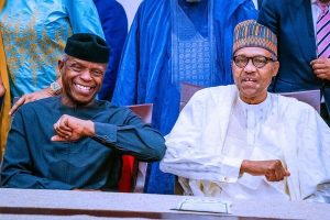 Coronavirus Buhari Osinbajo Introduce New Style Of Greeting2 1 300x200 - Buhari, Osinbajo, Charged To Court By SERAP, 302 Nigerians