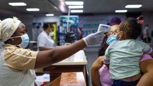 Lagos airport coronavirus 300x169 - FG To Revoke Visas Of Foreigners Without COVID-19 Certificate