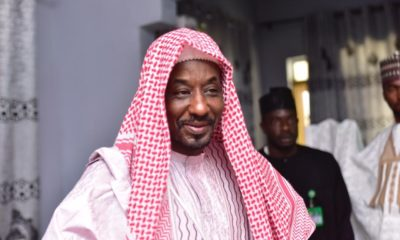 sanusiLamido Sanusi Backs Ganduje For Banning Islamic Cleric