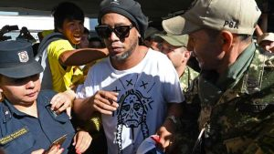 Ronaldinho Arrested by Paraguay Police 300x169 - Ronaldinho Finally Released From Paraguayan Detention After Five Months