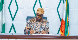 Seyi Makinde on Amotekun Uniform 300x155 - #EndSARS: Makinde Sets Up Judicial Panel Of Inquiry In Oyo State