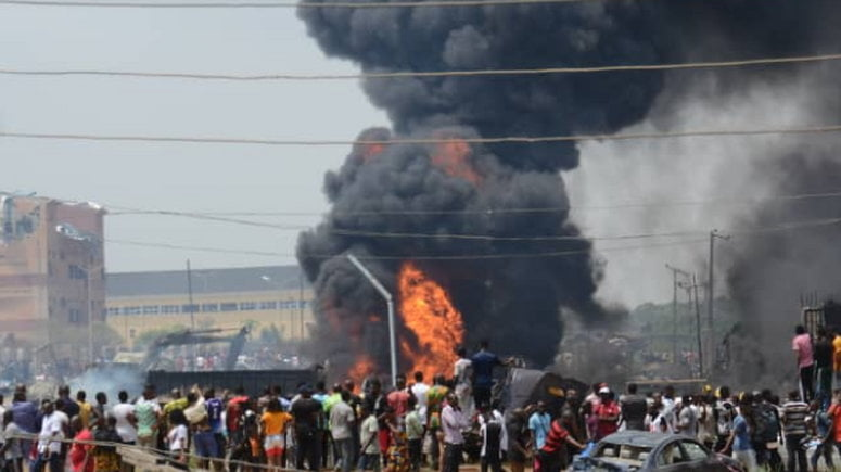 NNPC Reveals Real Cause of Lagos Explosion
