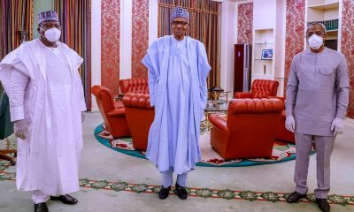 How Buhari Asked Senate To Call For Security Chiefs' Sack