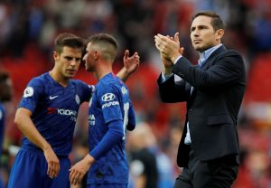 Chelsea players with Lampard 300x208 - EPL: Chelsea Players Contract Coronavirus
