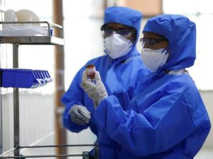 Coronavirus protective gear 300x225 - 269 Health Workers Test Positive For COVID-19