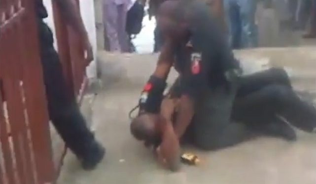 Police Dismiss Two Officers For Fighting In Public