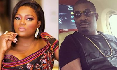 Funke Akindele and Don Jazzy