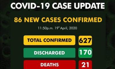 Breaking: Nigeria Records 86 Coronavirus Cases, 70 In Lagos