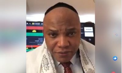 Biafra: Nnamdi Kanu Proves Kemi Olunloyo Wrong, Goes Live (WATCH HERE)