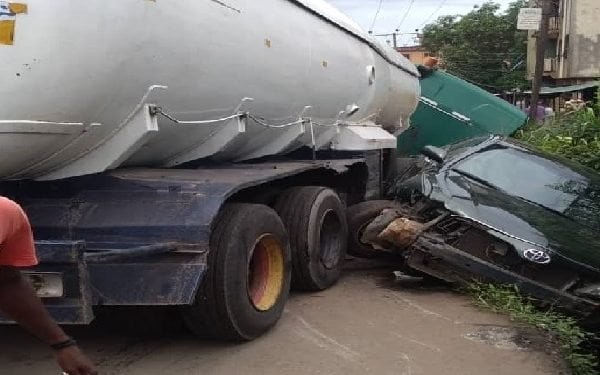 Breaking: Multiple Crash In Anambra Claims One Life (Photos)