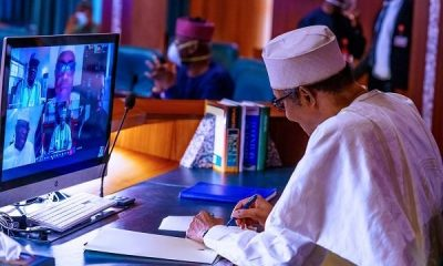 What 36 State Governors, Buhari Discussed At Crucial Security Meeting