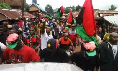 Breaking: Police Arrest '9 IPOB Members' In Delta, Recover Stolen Rifles