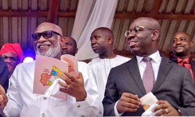 How Buhari Endorsed Obaseki, Akeredolu Second Term Bid - Oyegun