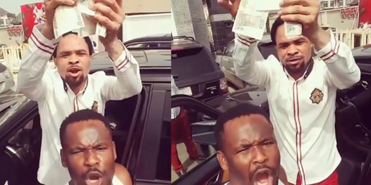 Prophet Odumeje Is Not My Pastor - Nollywood Actor Zubby Michael (Video)