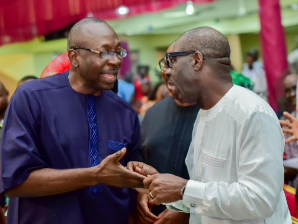 What Ize-Iyamu Told Obaseki To Do After Winning Edo APC Primary Election