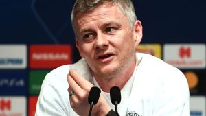 Solskjaer 300x169 - Manchester United Manager, Solskjaer Reacts As New Coach Arrives Old Trafford